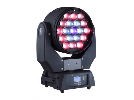 weitere Produktbilder Beam Wash 19E 19x15W RGBW LED 2 in 1 Moving Head Tour Bundle