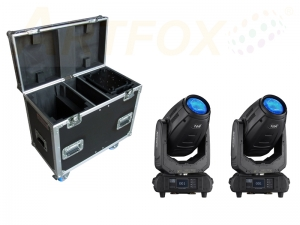 Vista 10R 3in1 2er  Moving Head Tour Bundle